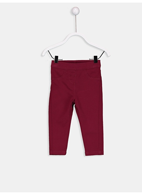 LC Waikiki Pantolon Bordo